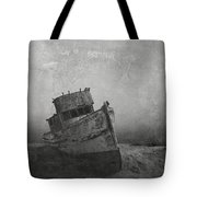 Memories Left At Sea Tote Bag