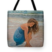 Memories Of The Sea Tote Bag