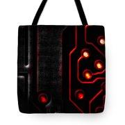 Memory Chip Bwr Tote Bag by Bob Orsillo