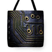 Memory Chip Number Two Tote Bag