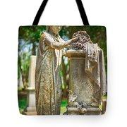 Memphis Elmwood Cemetery Monument - Cassie Hill Tote Bag