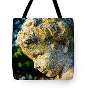 Memphis Elmwood Cemetery - Boy Angel Vertical Tote Bag
