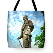 Memphis Elmwood Cemetery - Man With Cane Tote Bag