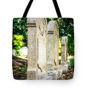 Memphis Elmwood Cemetery Monument - Four In A Row Tote Bag