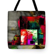 Memphis Map And Skyline Watercolor Tote Bag