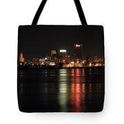 Memphis Tn Skyline At Night Tote Bag