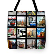 Memphis Trolleys Tote Bag