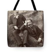 Men, 19th Century Tote Bag