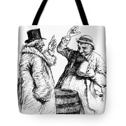 Men Drinking, 1900 Tote Bag