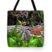 Menacing Mouth Tote Bag