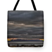Menacing Skies Tote Bag