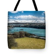 Menai Bridge 1819 Tote Bag
