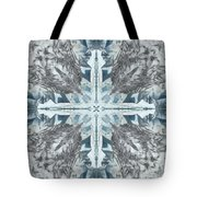 Mendenhall Glacier Cross Tote Bag