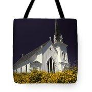 Mendocino Presbyterian Church Tote Bag