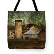 Mennonite Farm In Tennessee Usa Tote Bag by Kathy Clark