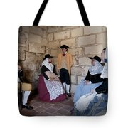 Menorquins Dress And Suit  Back In Time Xviii Century Tote Bag
