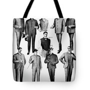 Men's Fashion, 1902 Tote Bag