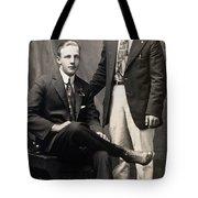 Men's Fashion, 1917 Tote Bag
