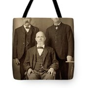 Men's Fashion, C1895 Tote Bag