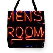 Men's Room Tote Bag