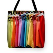 Mens Tuxedo Vests In A Rainbow Of Colors Tote Bag