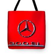 Mercedes 300 Sl Emblem -0121c Tote Bag