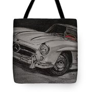 Mercedes 300 Sl Gullwing Tote Bag