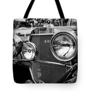 Mercedes 544k Grille - Bw Tote Bag
