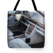 Mercedes 560 Sec Interior Tote Bag