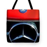 Mercedes-benz 300 Sl Grille Emblem Tote Bag