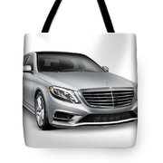Mercedes-benz S550 4matic Luxury Car Tote Bag