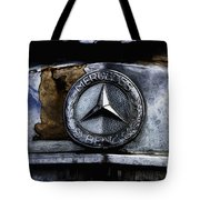Mercedes Benz Shabby Chic Tote Bag