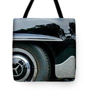 Mercedes-benz Wheel Emblem Tote Bag