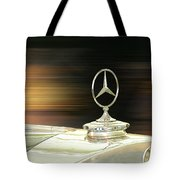 Mercedes Hood Ornament Tote Bag