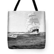 Merchant Ship, 1899 Tote Bag