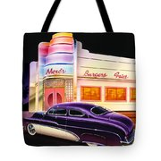 Mercs Burgers Tote Bag