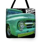 Mercury Truck Bw Background Tote Bag
