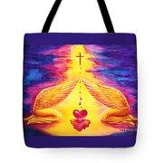Mercy Tote Bag by Nancy Cupp