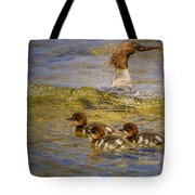 Merganser Lake Tahoe Tote Bag