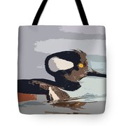 Merganser Reflections Tote Bag