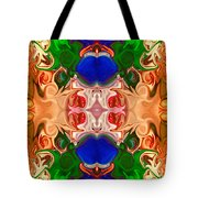 Merging Consciousness With Abstract Artwork By Omaste Witkowski  Tote Bag