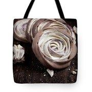 Meringue Rose Tote Bag