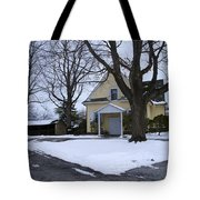 Merion Meeting House - Narberth Pa Tote Bag by Bill Cannon