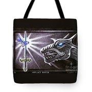 Merlin's Dragon Tote Bag
