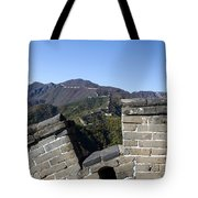 Merlon View From The Great Wall 726 Tote Bag
