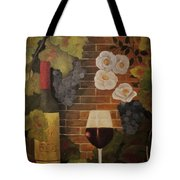 Merlot For The Love Of Wine Tote Bag