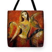 Mermaid Bride Tote Bag