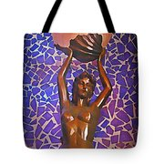 Mermaid In Cancun Tote Bag by Halifax travel photos by John Malone