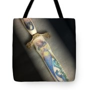 Mermaid Knife Tote Bag