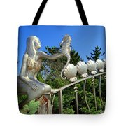 Mermaid's Best Friend Tote Bag